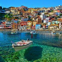 Пазл онлайн: Парга, Греция