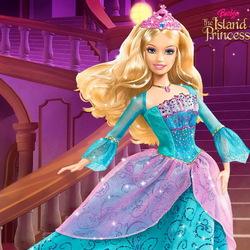 Пазл онлайн: Барби. Принцесса острова