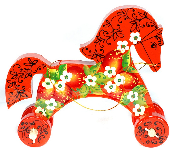 картинка русской народной игрушки лошадка и матрешка клинике используются