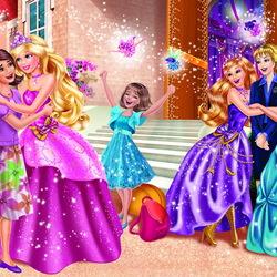 Пазл онлайн: Барби. Школа очаровательных принцесс
