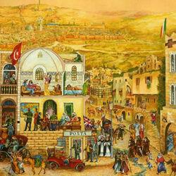 Пазл онлайн: История одной улицы