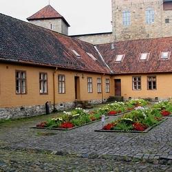Пазл онлайн: Внутренний двор крепости