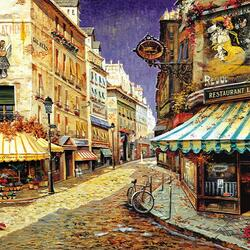 Пазл онлайн: Парижское турне