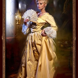 Пазл онлайн: Портрет дамы в желтом
