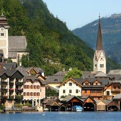 Пазл онлайн: Гальштат. Австрия