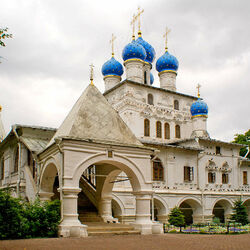 Пазл онлайн: Церковь Казанской иконы