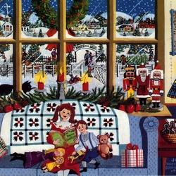 Пазл онлайн: Мечтая о Рождестве