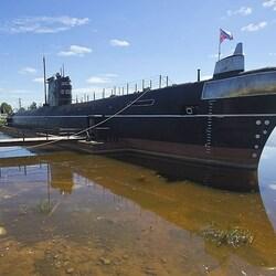 Пазл онлайн: Музей подводной лодки