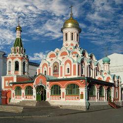 Пазл онлайн:  Собор Казанской иконы Божией Матери на Красной площади
