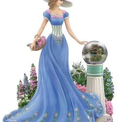 Пазл онлайн: Весенний сад