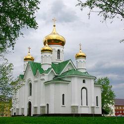 Пазл онлайн: Церковь иконы Божией Матери «Взыскание погибших»