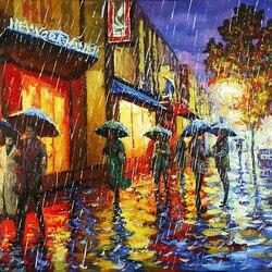 Пазл онлайн: Вальс дождя