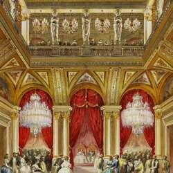 Пазл онлайн: Визит королевы Виктории в Париж