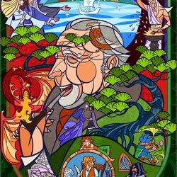 Пазл онлайн: Джон Рональд Руэл Толкин