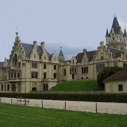 Пазл онлайн: Замок Графенег. Австрия