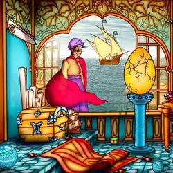 Пазл онлайн: Приключения Синдбада-морехода ...