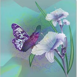 Пазл онлайн: Танцующая бабочка
