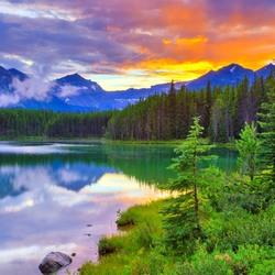 Пазл онлайн: Озеро Херберт