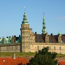 Пазл онлайн: Замок Кронборг. Дания