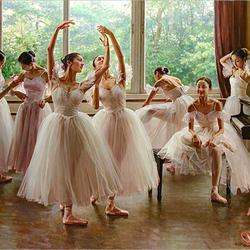 Пазл онлайн: Балерины