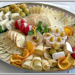 Пазл онлайн: Сырная нарезка