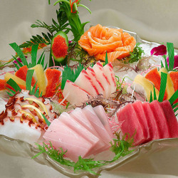 Пазл онлайн: Сашими