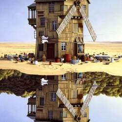 Пазл онлайн: Отражение