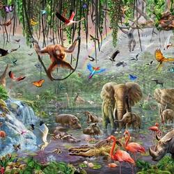 Пазл онлайн:  Wild Life /Дикая природа