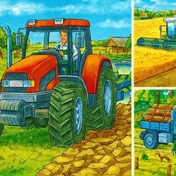 Пазл онлайн: Сельскохозяйственные работы
