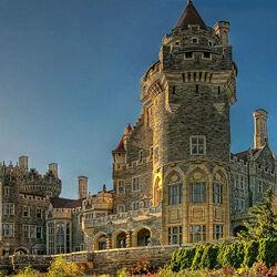 Пазл онлайн: Замок Каса Лома. Канада