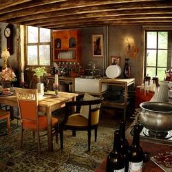 Пазл онлайн: Дом семьи Уизли
