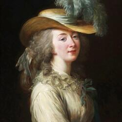 Пазл онлайн: Портрет мадам Дю Барри