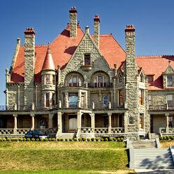 Пазл онлайн: Замок Крейгдаррош