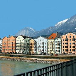 Пазл онлайн: Инсбрук