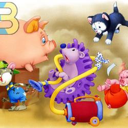 Пазл онлайн: Игрушки