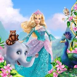 Пазл онлайн: Барби - принцесса острова