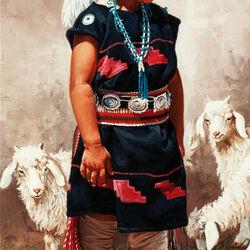 Пазл онлайн: Индейская девочка
