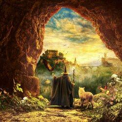 Пазл онлайн: Возвращение Гэндальфа