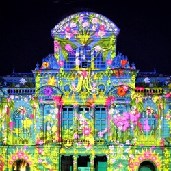 Пазл онлайн: Сад света в Анже