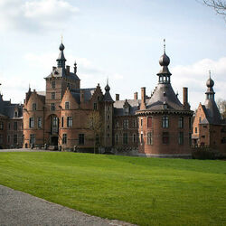 Пазл онлайн: Замок Ойдонк
