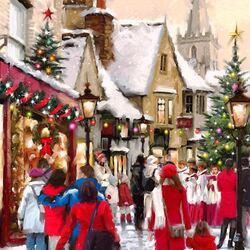 Пазл онлайн: Рождественская песня