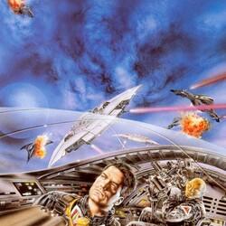 Пазл онлайн: Космическое сражение