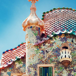 Пазл онлайн: Дом Бальо, Барселона