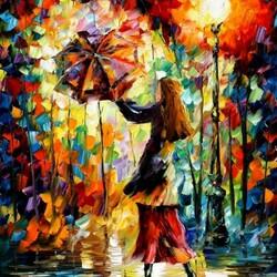 Пазл онлайн: Дождливое настроение