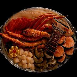Пазл онлайн: Морские деликатесы