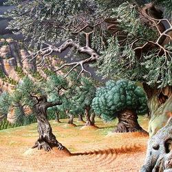 Пазл онлайн: Оливковые деревья