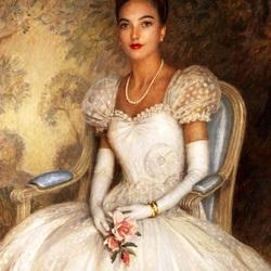 Пазл онлайн:  Портрет Леониды Георгиевны Багратион-Мухранской