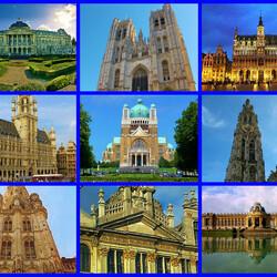 Пазл онлайн: Брюссель