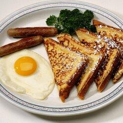 Пазл онлайн: На завтрак