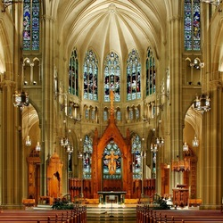 Пазл онлайн: Собор Успения Пресвятой Девы Марии в  Ковингтоне